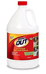 Super Iron Out LI04128N Rust Stain Remover-1 Gallon-Multi Purpose Rust Stain Remover for Siding, Driveways, and More