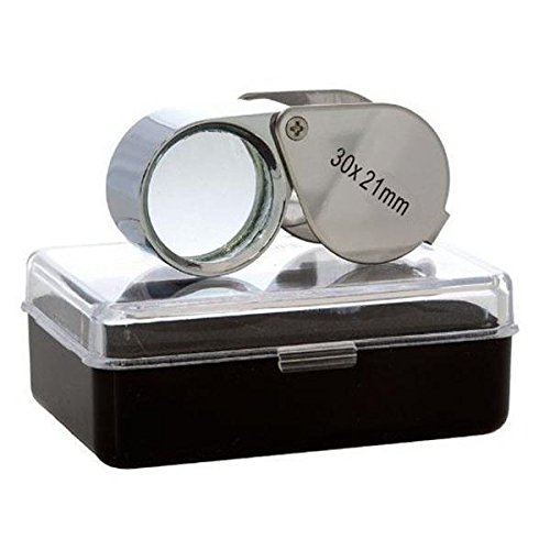 AODE® 30x 21mm Jeweler Eye Loupe Magnifier Magnifying Glass Jewelry Diamond Watch Repair Tool 210013