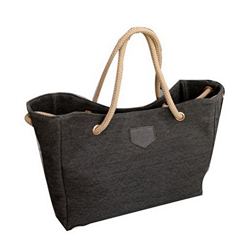 Color Scissor Womens Canvas Roomy No Pattern Tote Bags Simplicity Top-Handle Handbags