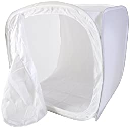 CowboyStudio 60-Inch Photo Studio Soft Box Lighting Tent - 4 Chroma Key Backdrops
