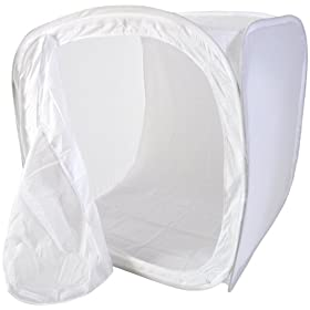 CowboyStudio 30in Photo Soft Box Light  - 4 Chroma Key Backdrops
