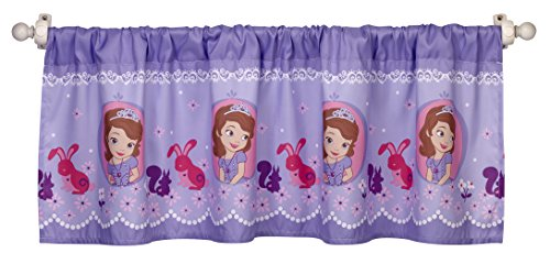 Disney Sofia The First Window Valance