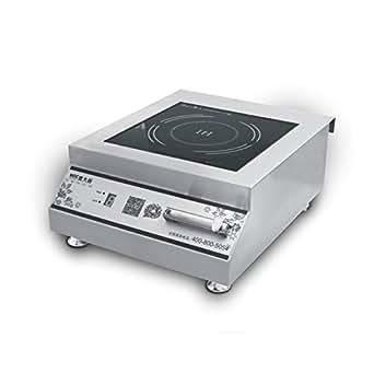 Countertop Stove Amazon : Amazon.com: 5000 Watt Countertop Commercial Induction Cooktop Burner ...