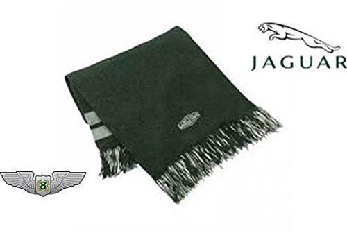 Jaguar Heritage Merchandise Nuovo Originale Pura Lana Sciarpa Lavorata A Maglia 50JBSCF064GNA
