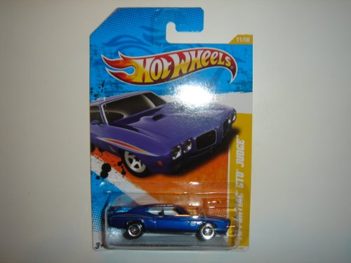 2011 Hot Wheels '70 Pontiac GTO Judge Blue #11/244 - 1