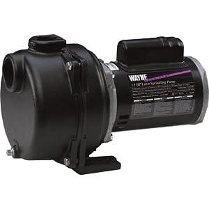 Wayne WLS150 1-1/2-Horsepower Cast Iron Lawn Sprinkling Pump