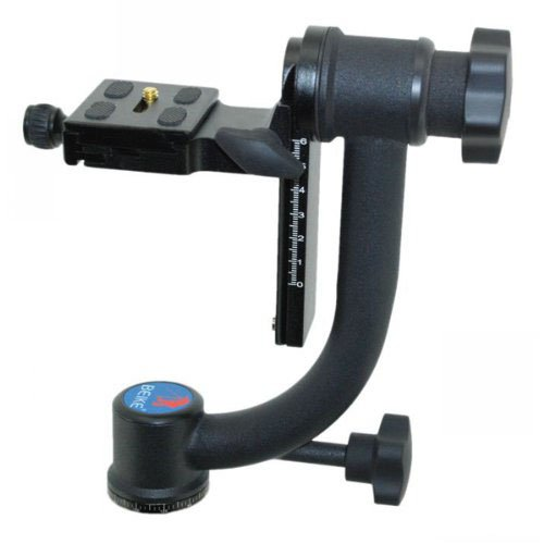 CowboyStudio Panoramic Gimbal Tripod Head BK-45 Specialized 1/4-Inch Screw For Telephoto Len Camera