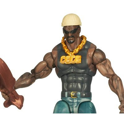 Marvel Universe 3 3/4 Inch Series 2 Action Figure Luke Cage by Hasbro (Luke Cage Action Figure compare prices)
