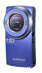Samsung U20 Full HD Compact Camcorder - Blue (2.0 LCD, HDMI Output, 8MP Photo)