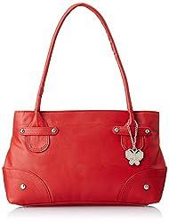 Butterflies Handbag (Red)(BNS 0316)