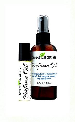 Fragrance / Perfume Oil - Yuzu - 2oz Made with Organic Oils - Spray on Perfume Oil - Alcohol & Preservative Free (.33oz - Rollon)