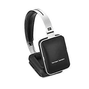 Harman/Kardon BT Premium Bluetooth Wireless Over-Ear Headphones with In-Line Remote and Mic - Silver/Black