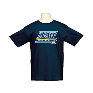 Northern Arizona Youth Navy T-Shirt-Medium, Volleyball