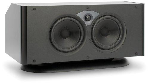 Atlantic Technology 6200Ec-Blk Thx Ultra2 Center Channel Speaker (Single, Satin Black)