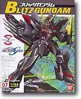 Bandai Hobby #07 Blitz Gundam 1/144, Bandai Seed Action Figure - 1