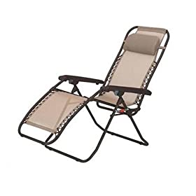 Pacific Outdoors 17-LC130 La Chaise Folding Recliner