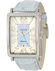 Gevril Women's 6207NT Glamour Automatic Blue Diamond Watch