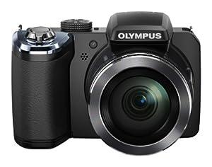 OLYMPUS デジタルカメラ STYLUS SP-820UZ 1400万画素CMOS 光学40倍ズーム 広角22.4mm ブラック  SP-820UZ BLK