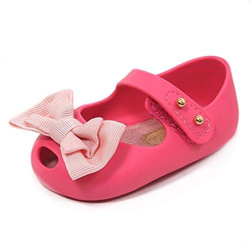 """Mini Melissa """"My First Mini Melissa""""-Sandali da donna con chiusura in Velcro, in plastica, colore: rosa, Rosa (rosa),"""