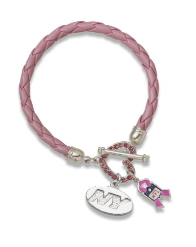 NFL New York Jets Breast Cancer Awareness Bracelet at Amazon.com