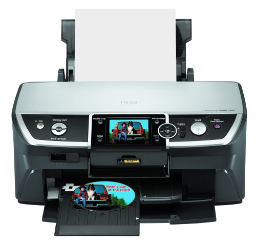 Epson Stylus Photo R380 Color Inkjet Printer (C11C658011) (Direct Cd Printer compare prices)