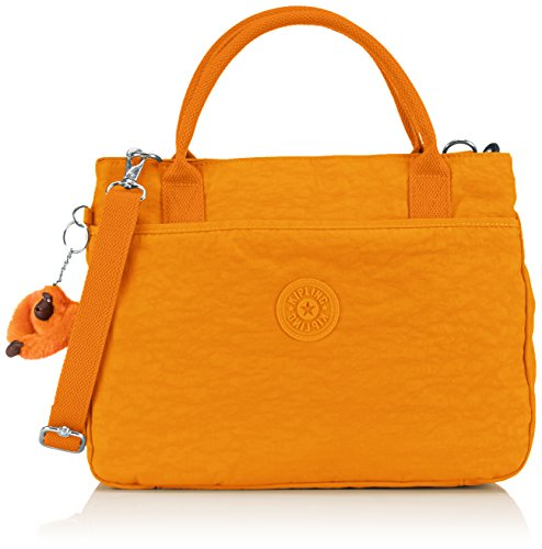 KiplingCaralisa - Borsa con Maniglia Donna , Arancione (Orange (Sunset Yellow)), Taille Unique