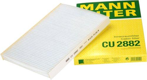 Mann-Filter CU 2882 Cabin Filter for select  Audi/ Volkswagen models