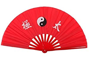 NuoYa001 New Chinese Kung Fu Martial Arts Dance/Practice Performance Tai Chi Fan Bamboo