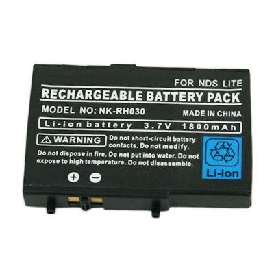 HDE(TM) Rechargeable 3.7V Li-Ion Battery Pack for Nintendo DS Lite