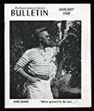 The Poetry Society of America Bulletin: January 1968
