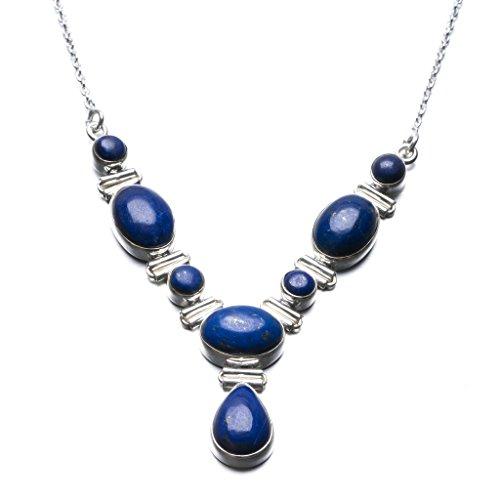 stargems-tm-lapis-lazuli-naturelle-design-unique-en-argent-sterling-925-collier-18-1-51-cm