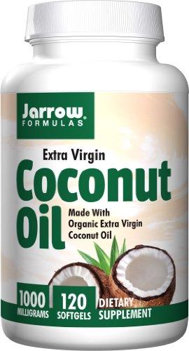 Jarrow Formulas - Coconut Oil (Extra Virgin) 1000mg 120 gels (Pack of 2) (Jarrow Coconut Oil Extra Virgin compare prices)
