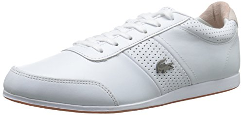 Lacoste Men's Embrun 116 2 Cam Fashion Sneaker Fashion Sneaker, White, 9.5 M US