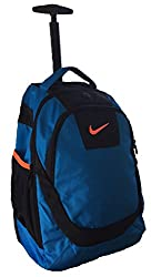 Nike Accessories Rolling Laptop Backpack (Photo Blue)