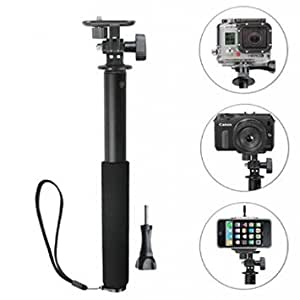 Kamron Selfie Stick With Holder For Go-pro & Mobiles