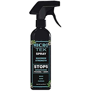 EQyss Micro-Tek Medicated Pet Spray, 16-Ounce