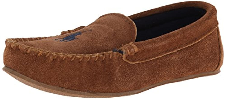 d73dbe5f4 ... where to buy polo ralph lauren kids desmond moccasin flat toddler  little kid big kid f1a8d uk new polo ralph lauren mens moccasin slippers  brown ...