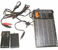 3, 6, 9, and 12 Volt Solar Panel with 9 ...
