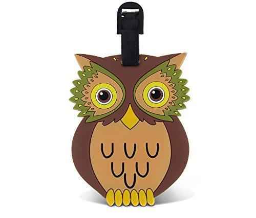 WeGlow International Fun Luggage Tag - Owl