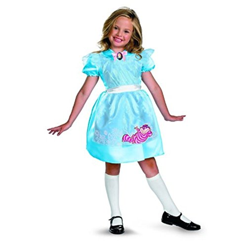 Disguise Limited Alice In Wonderland Girls Costume Childs Medium