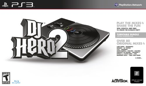 Activision Toys DJ Hero 2 Turntable Bundle for Sony PS3