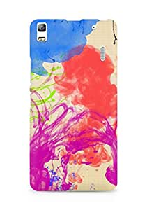 Amez designer printed 3d premium high quality back case cover for Lenovo K3 Note (Abstract Colorful 22)