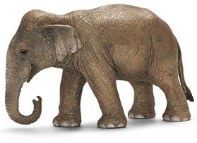 Schleich シュライヒ 動物フィギュア インド象(メス) 14654