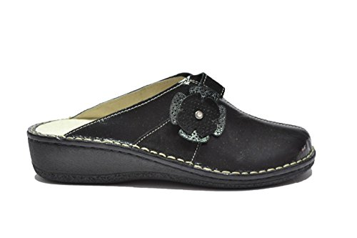 Cinzia Soft Ciabatte scarpe donna nero PLANTARE ESTRAIBILE IM2011Q 36