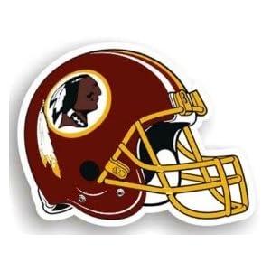 "Washington Redskins 12 Vinyl Helmet Car Magnet"""