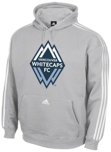 Vancouver Whitecaps adidas Soccer Logo Shield Hooded Sweatshirt