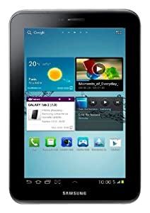 "Samsung Galaxy Tab 2 GT-P3110TSAXEF Tablette 7"" (17,78 cm) Processeur Dual-Core 8 Go Android Ice Cream Sandwich 4.0 Wifi Gris"