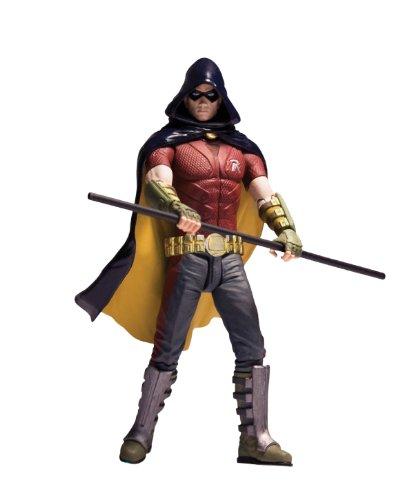 Dc Direct Batman Arkham City Series 1 Robin Action Figure at Gotham City Store