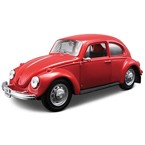 vw-beetle-limousine-model-kit-maisto-diecast-124-scale-kid-fun-playing-toy-car