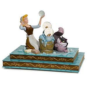 Amazon Disney Cinderella Maid Lucifer Villain Bubble Snowglobe Snow Globes Everything Else